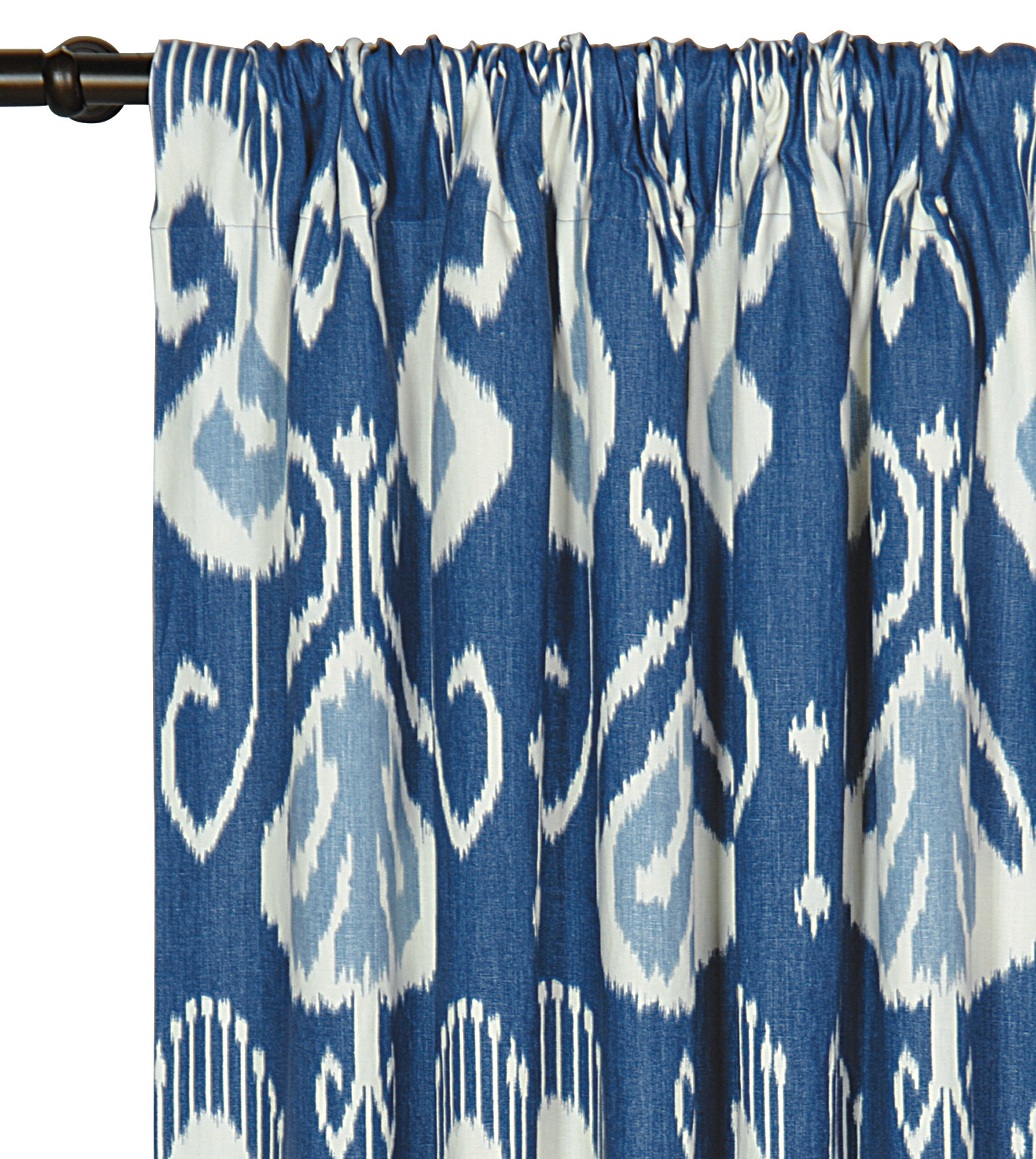 Eastern-Accents-Ceylon-Cotton-Rod-Pocket-Curtain-Single-Panel